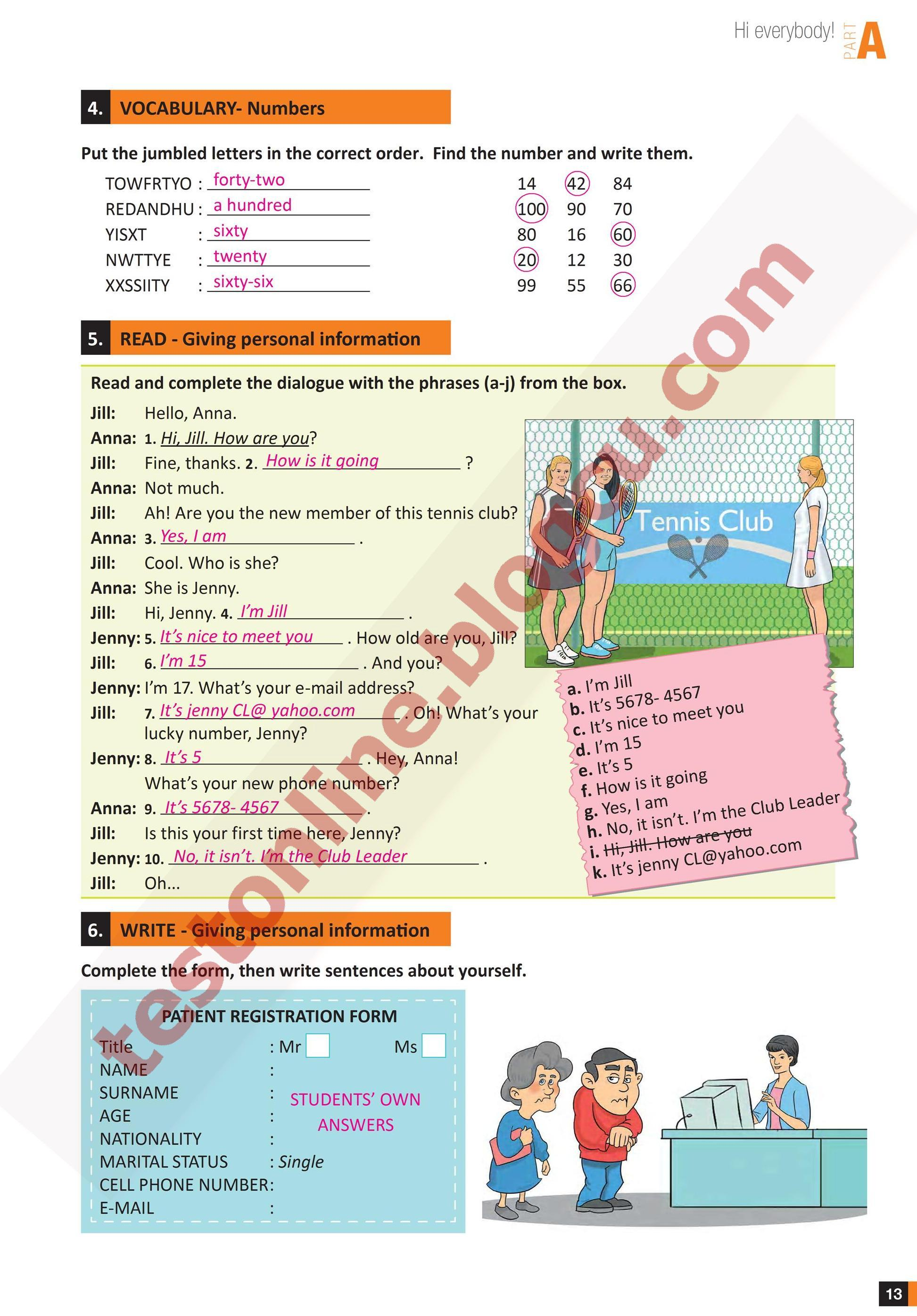 Best 7 Sınıf Ingilizce çalışma Kitabı Cevapları Meb Yayınları Sayfa